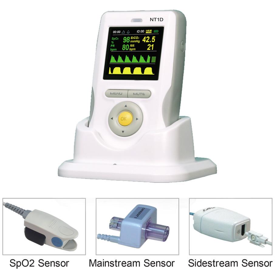 Handheld CO2/SpO2 Monitor - NT1D Series