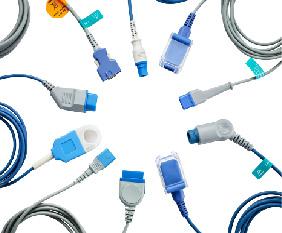 Reusable SpO2 Adaptor Cables